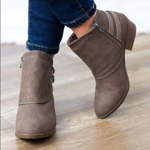Blowfish Sistee Ankle booties- Brand New with box